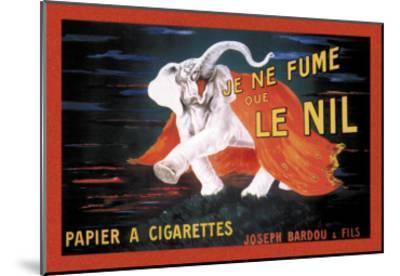Je Ne Fume Que le Nil--Mounted Art Print