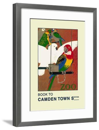 The London Zoo: Exotic Birds-S.t.c. Weeks-Framed Art Print