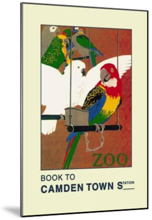 The London Zoo: Exotic Birds-S.t.c. Weeks-Mounted Art Print