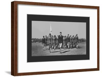 The First Negro Wac's to Arrive--Framed Art Print