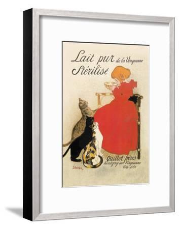 Lait Pur de la Vingeanne Sterilise-Th?ophile Alexandre Steinlen-Framed Art Print