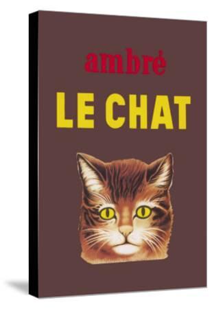Ambre le Chat--Stretched Canvas Print