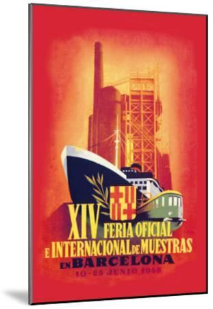 XIV Official International Model Fair in Barcelona- Guillermo-Mounted Art Print