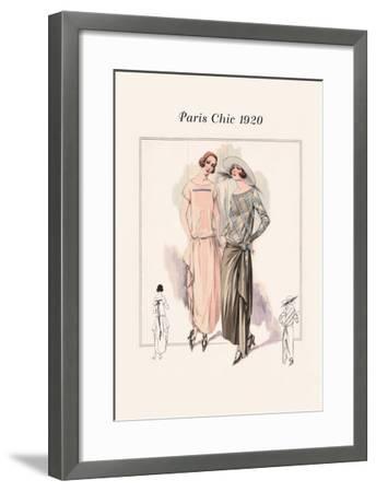 Afternoon Attire--Framed Art Print