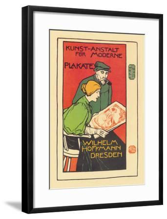 Printers of Modern Posters-Emil Paul Fischer-Framed Art Print