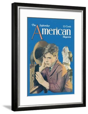 American Magazine: Canine Tuning--Framed Art Print