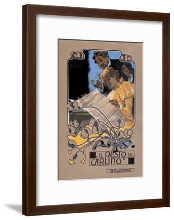 Resto de Carlino-Adolfo Hohenstein-Framed Art Print