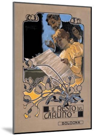 Resto de Carlino-Adolfo Hohenstein-Mounted Art Print