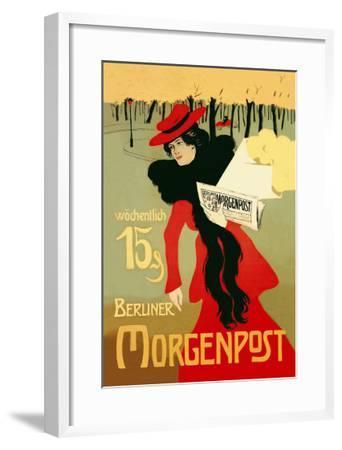 Berliner Morganpost-Howard Pyle-Framed Art Print