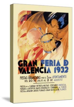 Gran Feria de Valencia 1932--Stretched Canvas Print