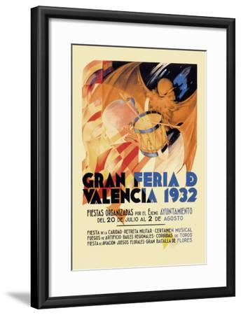 Gran Feria de Valencia 1932--Framed Art Print