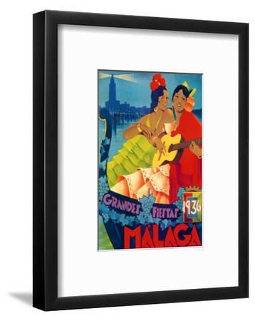Grandes Fiestas--Framed Premium Giclee Print