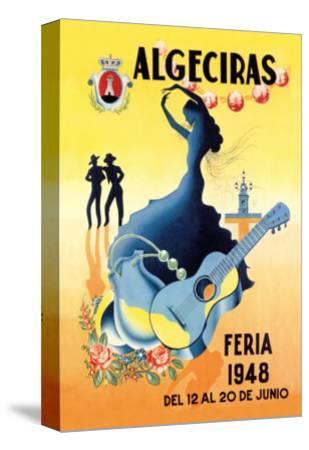 Algeciras--Stretched Canvas Print