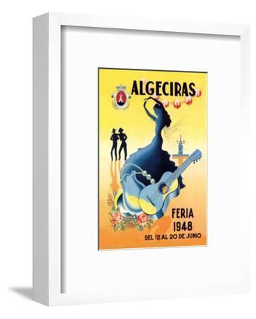 Algeciras--Framed Premium Giclee Print