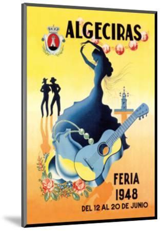 Algeciras--Mounted Premium Giclee Print