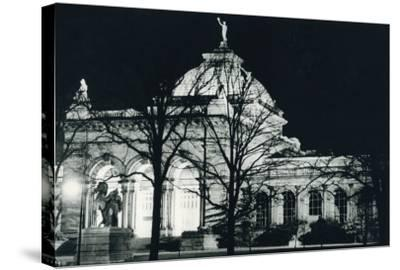 Memorial Hall Philadelphia at Night--Stretched Canvas Print