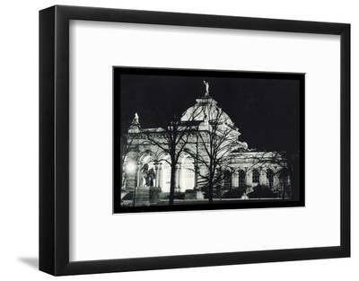 Memorial Hall Philadelphia at Night--Framed Photo