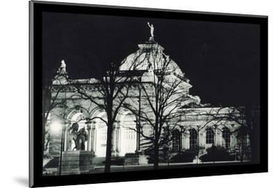 Memorial Hall Philadelphia at Night--Mounted Photo