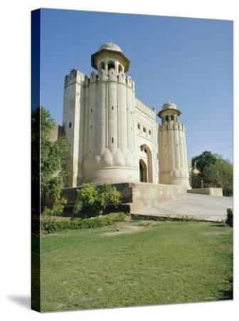Fort or Citadel, Lahore, Pakistan-Robert Harding-Stretched Canvas Print