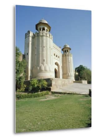 Fort or Citadel, Lahore, Pakistan-Robert Harding-Metal Print