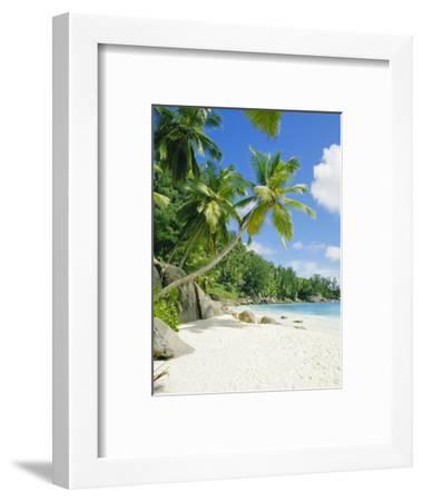 Anse Intedance, Mahe, Seychelles, Indian Ocean-Robert Harding-Framed Photographic Print