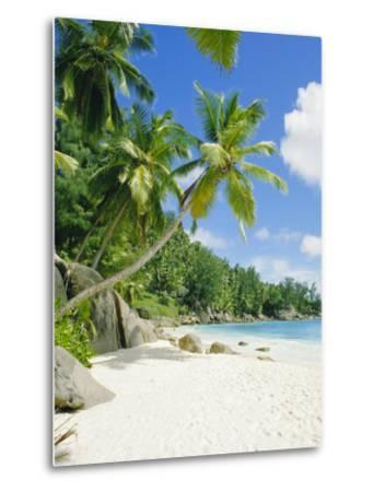 Anse Intedance, Mahe, Seychelles, Indian Ocean-Robert Harding-Metal Print