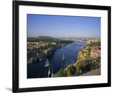 View Over The Nile River From The New Cataract Hotel Aswan Egypt