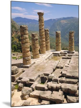 Temple of Apollo, Delphi, Greece, Europe-Ken Gillham-Mounted Photographic Print