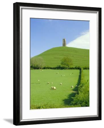 Glastonbury Tor, Glastonbury, Somerset, England, UK-Christopher Nicholson-Framed Photographic Print