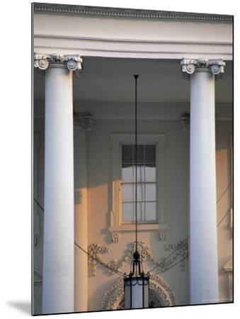 Detail of the White House, Washington D.C., United States of America (U.S.A.), North America-Jonathan Hodson-Mounted Photographic Print