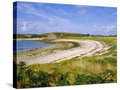 Bryner, Isles of Scilly, England, UK-David Lomax-Stretched Canvas Print