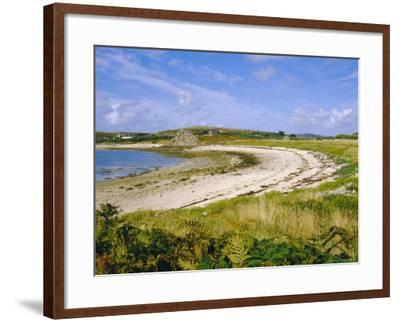 Bryner, Isles of Scilly, England, UK-David Lomax-Framed Photographic Print