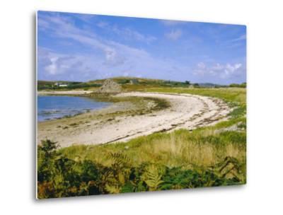 Bryner, Isles of Scilly, England, UK-David Lomax-Metal Print