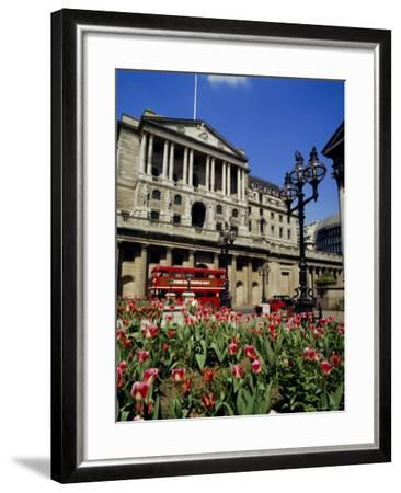 The Bank of England, Threadneedle Street, City of London, England, UK-Walter Rawlings-Framed Photographic Print