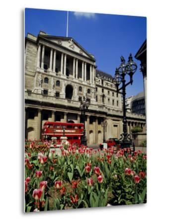 The Bank of England, Threadneedle Street, City of London, England, UK-Walter Rawlings-Metal Print
