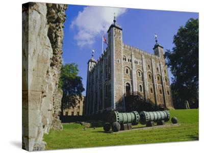 The White Tower, Tower of London, London, England, UK-Walter Rawlings-Stretched Canvas Print