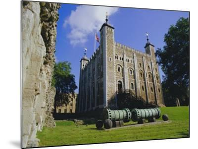 The White Tower, Tower of London, London, England, UK-Walter Rawlings-Mounted Photographic Print