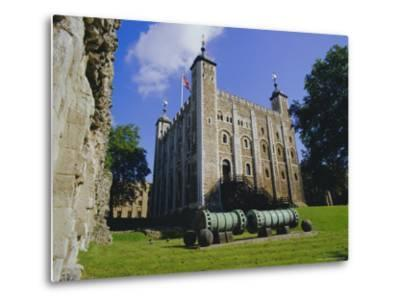 The White Tower, Tower of London, London, England, UK-Walter Rawlings-Metal Print