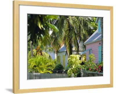 Hope Town, 200 Year Old Settlement on Elbow Cay, Abaco Islands, Bahamas, Caribbean, West Indies-Nedra Westwater-Framed Photographic Print