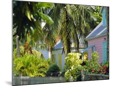 Hope Town, 200 Year Old Settlement on Elbow Cay, Abaco Islands, Bahamas, Caribbean, West Indies-Nedra Westwater-Mounted Photographic Print