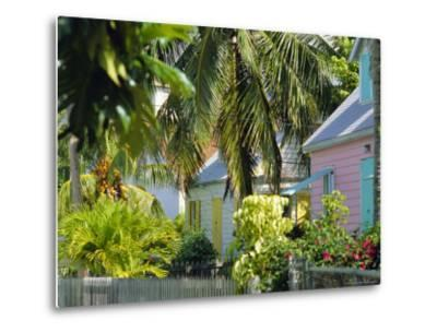 Hope Town, 200 Year Old Settlement on Elbow Cay, Abaco Islands, Bahamas, Caribbean, West Indies-Nedra Westwater-Metal Print