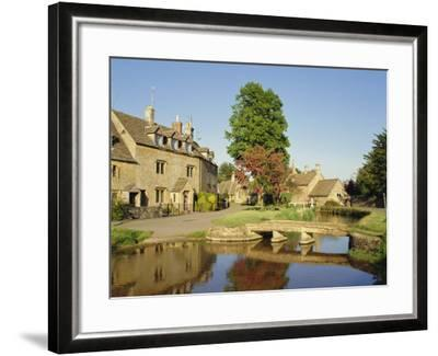Lower Slaughter, the Cotswolds, Gloucestershire, England, UK-Philip Craven-Framed Photographic Print