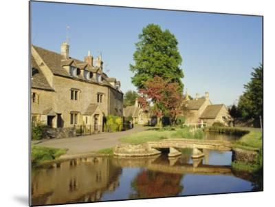 Lower Slaughter, the Cotswolds, Gloucestershire, England, UK-Philip Craven-Mounted Photographic Print