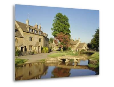 Lower Slaughter, the Cotswolds, Gloucestershire, England, UK-Philip Craven-Metal Print