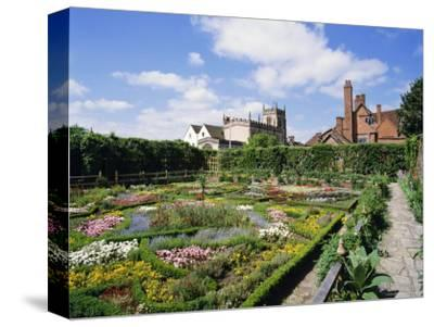 Nash House Gardens, Stratford-Upon-Avon, Warwickshire, England, UK, Europe-Philip Craven-Stretched Canvas Print
