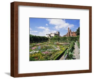 Nash House Gardens, Stratford-Upon-Avon, Warwickshire, England, UK, Europe-Philip Craven-Framed Photographic Print
