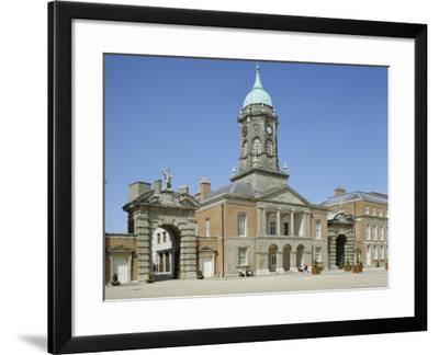 Dublin Castle, Dublin, County Dublin, Republic of Ireland (Eire), Europe-Philip Craven-Framed Photographic Print