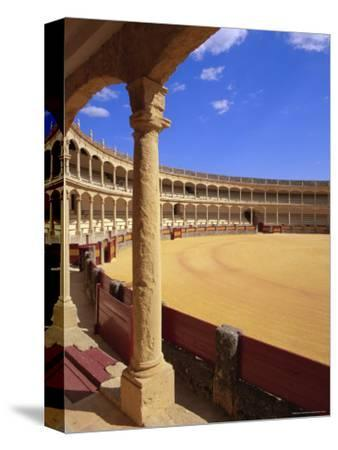 Plaza De Toros (Bull Ring) Dating from 1785, Ronda, Andalucia (Andalusia), Spain, Europe-Gavin Hellier-Stretched Canvas Print