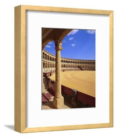 Plaza De Toros (Bull Ring) Dating from 1785, Ronda, Andalucia (Andalusia), Spain, Europe-Gavin Hellier-Framed Photographic Print