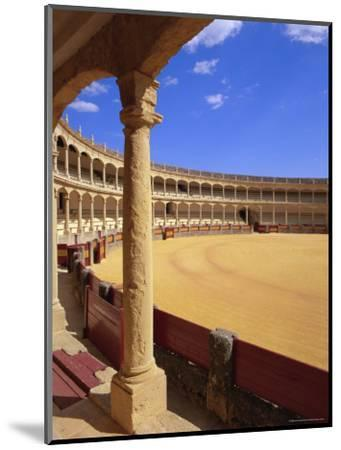Plaza De Toros (Bull Ring) Dating from 1785, Ronda, Andalucia (Andalusia), Spain, Europe-Gavin Hellier-Mounted Photographic Print